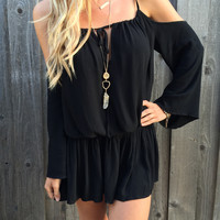 Festival Off Shoulder Dress - FINAL SALE