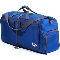 B&B 100L Extra Large Duffle Bag - Packable Travel Duffel Bag