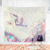 Explorers  4 Wall tapestry