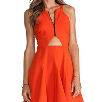 Hunter Bell Laurie Dress in Red