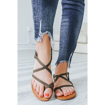 Rylie Sandals - Olive
