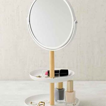 Tosca Tiered Catch-All Dish With Mirror