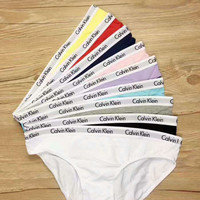 """Calvin Klein"" Outstanding Woman Triangle Underpants (9 colours)"