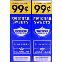 Swisher Sweets Cigarillos 2/.99¢ Blue Berry