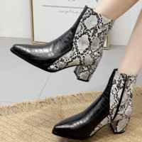 The new model is a hot seller for women with pointed high-heeled short boots
