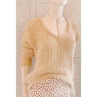 By Together Natural Knit Sweater