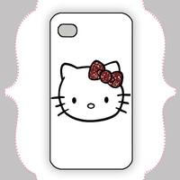 iPhone Case- Hello Kitty- iPhone 4 Case, iPhone 4s Case, iPhone 5 Case, Monogram Case, Personalized iPhone Case
