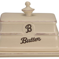 Word Butter Dish