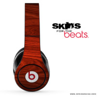 Rich Red Wood V1 Skin for the Beats by Dre