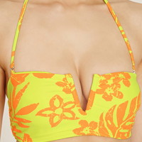 Tropical V-Notched Bandeau
