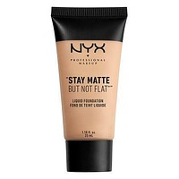 NYX Stay Matte But Not Flat Liquid Foundation - Creamy Natural - #SMF04
