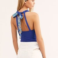 One Call Away Halter Top