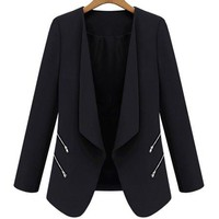 Black Long Sleeve Blazer