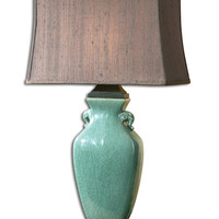 Uttermost Hastin Turquoise Table Lamp - 27912-1