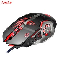 Apedra A8 New Wired Gaming Mouse Professional