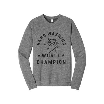 Hand Washing World Champion