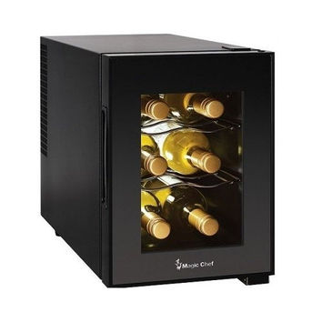 Compact 6 Bottle Wine Cooler
