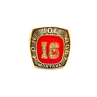 SF 49ERS JOE MONTANA 2000 HOF RINGS