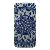 [USD $ 1.99] - Blue and White Porcelain Pattern Hard Case for iPhone4/4S