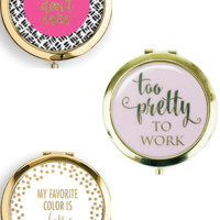Gold Compact   Pretty Collection