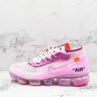 Off-white X Nike Air Vapormax Flyknit 2.0 Pink