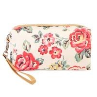 Rose Makeup Bag