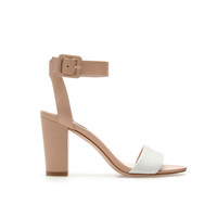MID-HEEL SANDALS - Heeled sandals - Shoes - Woman - ZARA United States