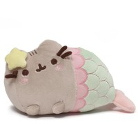 Gund Pusheen Mermaid Star Plush 7""