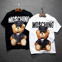 Moschino Fashion Bear Fashion Women T Shirt