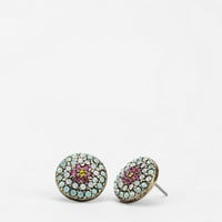 Flower Mosaic Earring - Urban Outfitters