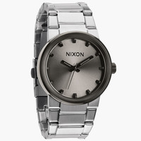 Nixon The Cannon Watch Silver/Gunmetal One Size For Men 24406114001