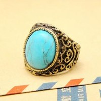 Vintage Style Turquoise Ring BCO121
