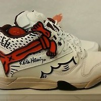 Reebok Men's Court Victory Pump KH ( Keith Haring ) Style # : M40330