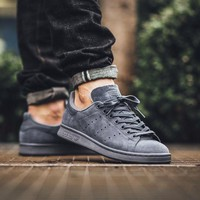 Adidas Stan Smith Suede 'Onix Grey'