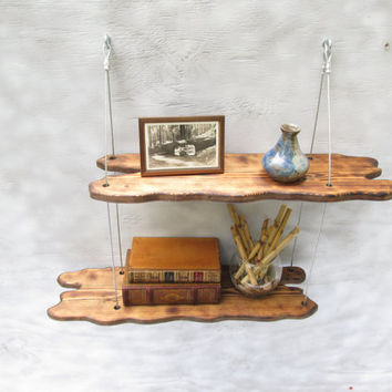 driftwood shelves, display shelving, shelving system,wall shelves, home decor