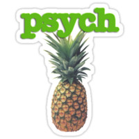 'Psych' Sticker by nomeremortal