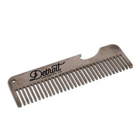 """STAINLESS COMB W/BOTTLE OPENER 4"""""""