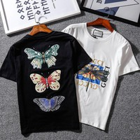 spbest Gucci Dragonfly T-Shirt