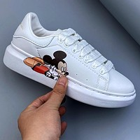 Alexander McQueen x DISNEY Sponge Platform Raised Platform Shoes