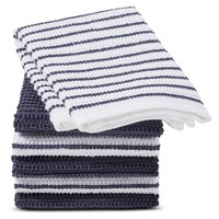 Blue Stripe Dish Cloth (6 Pk) - Room Essentials™