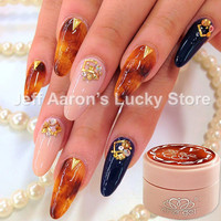 4PCS CHE Amber Looks LED UV Nail Polish Gel Color Nail Art Decoration Beauty Tools Soak Off Nail Painting Gel