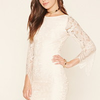 Rare London Floral Lace Dress