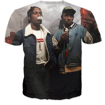 A$AP and Tyler the Creator tee!