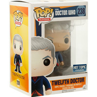 Funko Doctor Who Pop! Television Twelfth Doctor (Spoon) Vinyl Figure Hot Topic Exclusive