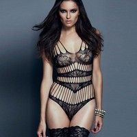 Hot Deal Cute On Sale Lace Sexy Sleepwear One-piece Underwear Exotic Lingerie [6596714563]