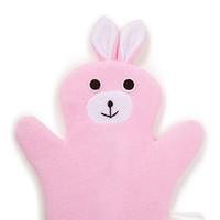 FOREVER 21 Bunny Washcloth Pink One