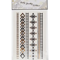 With Love From CA Geo Flash Arm Tattoos - Womens Scarves - Multi - One