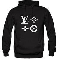 Louis Vuitton LV Pattern V3 Hoodie Hooded Sweatshirt Sweater T-Shirt Tee Shirt Vinyl Heat Press Custom Inspirational Quote Teen Kids Funny Girls Designer Brand Expensive Luxury