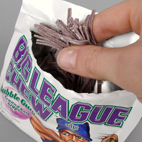 big league chew - grape bubble gum