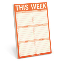 This Week To Do List Pad by Knock Knock - knockknockstuff.com